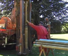 matériel tube de soutènement pour puits